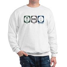 Eat Sleep Ham Radio Sweatshirt