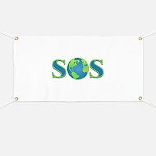 SOS earth Banner