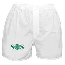 SOS earth Boxer Shorts