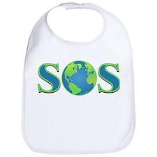 SOS earth Bib