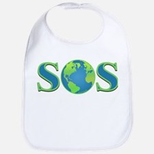 SOS earth Bib