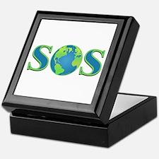 SOS earth Keepsake Box