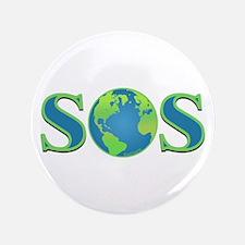 """SOS earth 3.5"""" Button"""