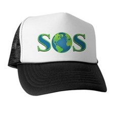 SOS earth Trucker Hat
