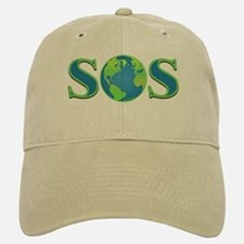 SOS earth Baseball Baseball Cap