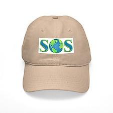 SOS earth Baseball Cap