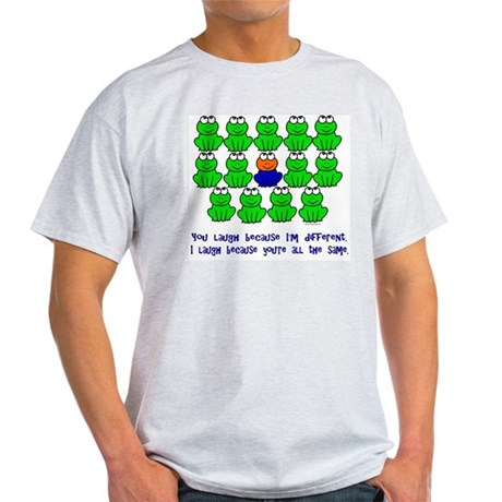 Being Different FROGS 3 Light T-Shirt
