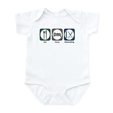Eat Sleep Hairstyling Infant Bodysuit