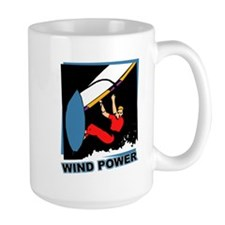 Wind Power Windsurfing Mug