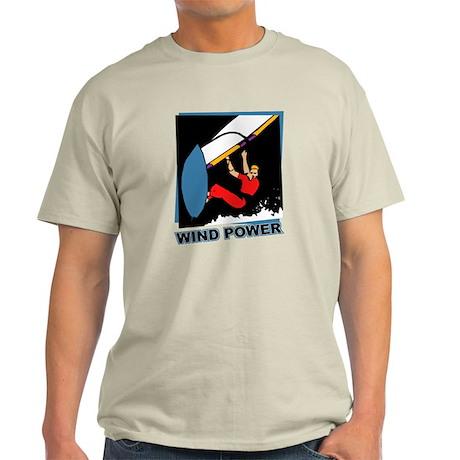 Wind Power Windsurfing Light T-Shirt
