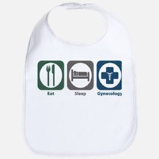 Eat Sleep Gynecology Bib