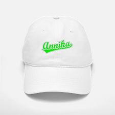 Retro Annika (Green) Baseball Baseball Cap