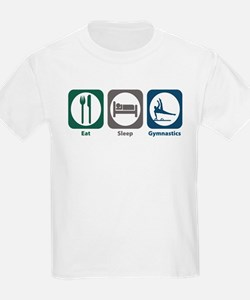 Eat Sleep Gymnastics T-Shirt