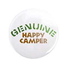 "Genuine Happy Camper 3.5"" Button"