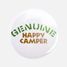 "Genuine Happy Camper 3.5"" Button"