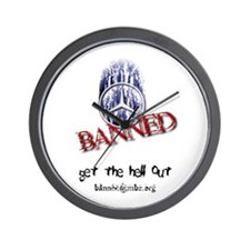 Banned Wall Clock