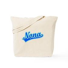 Retro Nona (Blue) Tote Bag