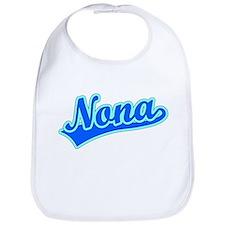 Retro Nona (Blue) Bib