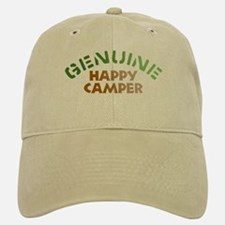 Genuine Happy Camper Baseball Baseball Cap
