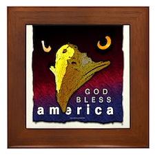 America... Framed Tile
