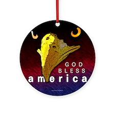 America... Ornament (Round)