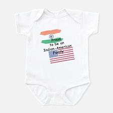 Indian-American Family Infant Bodysuit