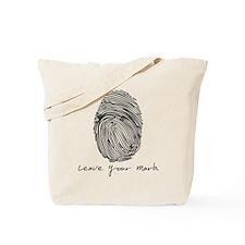 Leave your Mark - Black Tote Bag