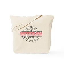 Proud of my Veteran (Property Tote Bag