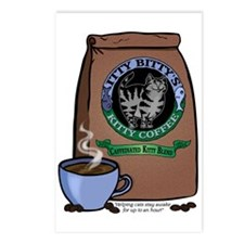 Caffeinated Kitty Blend Postcards (Package of 8)