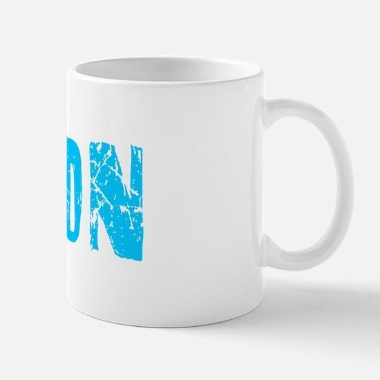 Byron Faded (Blue) Mug