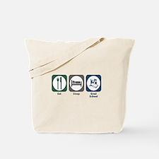 Eat Sleep Grad School Tote Bag