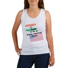 Indian-American Family Women's Tank Top