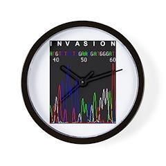 Genomic Invasion Wall Clock