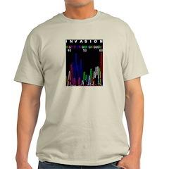 Genomic Invasion Ash Grey T-Shirt
