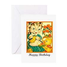 Happy Birthday - Crafty Knitt Greeting Card