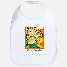 Happy Birthday - Crafty Knitt Bib