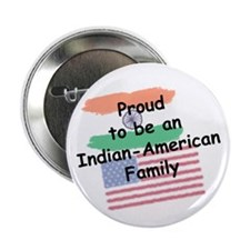 "Indian-American Family 2.25"" Button"