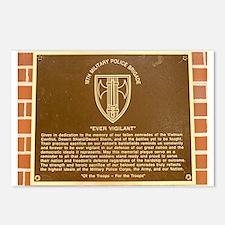18th MP Brigade Memorial Postcards.