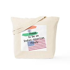 Indian-American Family Tote Bag