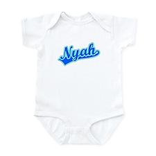 Retro Nyah (Blue) Infant Bodysuit