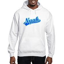 Retro Nyah (Blue) Hoodie Sweatshirt