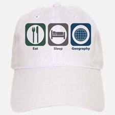 Eat Sleep Geography Baseball Baseball Cap