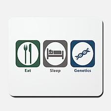 Eat Sleep Genetics Mousepad