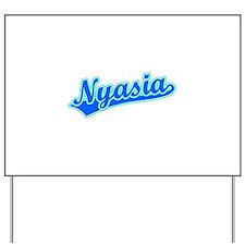 Retro Nyasia (Blue) Yard Sign