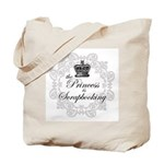 The Princess Is Scrapbooking Tote Bag
