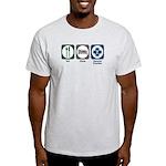 Eat Sleep General Practice Light T-Shirt