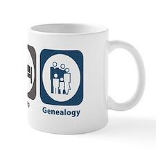 Eat Sleep Genealogy Small Mug