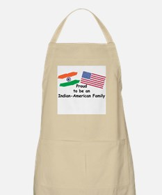 Indian-American Family BBQ Apron