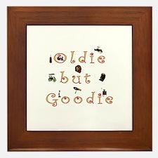 Oldie but Goodie Framed Tile