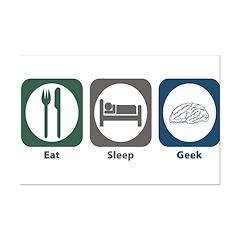 Eat Sleep Geek Posters